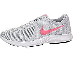 Nike Women's Revolution 4 Running Shoe, Pure Platinumsunset Pulse-wolf Grey, 7 Regular Us