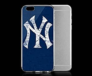 Light weight with strong PC plastic case for Iphone 6 Sports & Collegiate MLB New York Yankees New York Yankees Solid Distressed