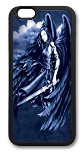 "Rosesea Custom Personalized Custom DIY Case for iphone 6 Plus, Fallen Angel Hard PC Back Protective Case for iphone 6 Plus 5.5""-26"