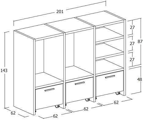 Dafnedesign. com – Mueble para colada, para lavadora y secadora y ...