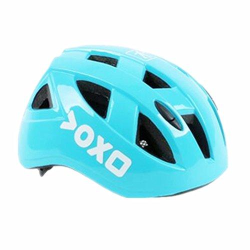 Kids/Teenager Roller Skating helmet Family Cycling Safety Bike Helmet-skyblue-m