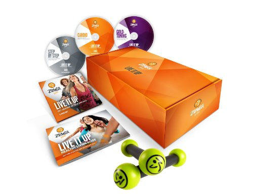 Zumba Fitness Gold Live It Up DVD Set - Step Up Movies Box Set