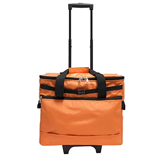 Janome Sewing Machine Trolley in Orange
