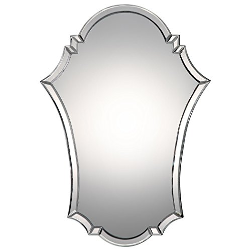 MY SWANKY HOME Curved Venetian Arch Vanity Wall Mirror | 29