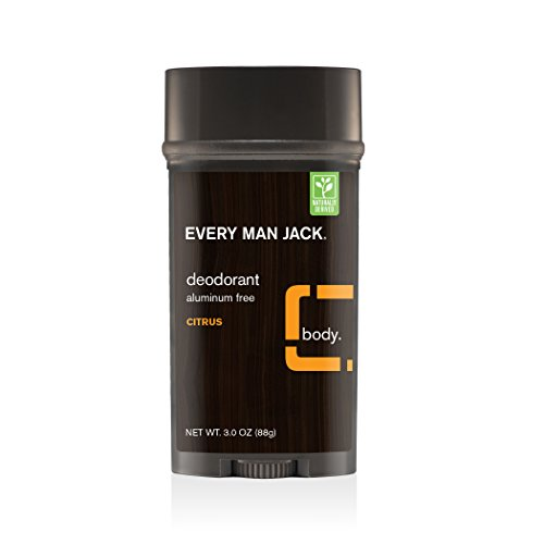 Every Man Jack Deodorant, - Men Citrus