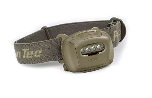Princeton Tec Quad Tactical MPLS LED Headlamp (78 Lumens, Olive Drab) (Tactical Quad)