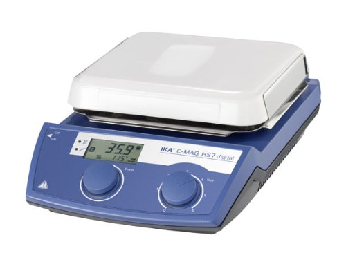 IKA  3487001 C-MAG HS 7 Digital IKAMAG Glass Ceramics, Magnetic Stirrer, Hotplate, 115V - Ika Hot Plate