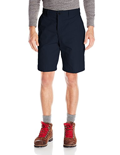 Red Kap Men's Plain Front Short, Navy, 37x10 ()
