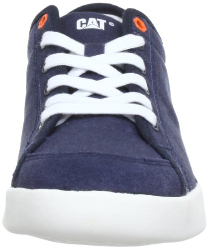 Cat Footwear JED P716244 - Zapatos de cordones de cuero para hombre Azul (Blau (Midnight))