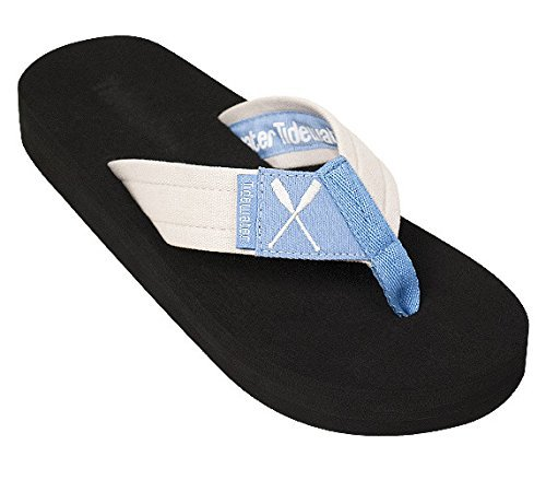 - Tidewater Women's Peri Oars Sandals Periwinkle/Tan 7
