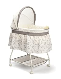 Delta Children Sweet Beginnings Bassinet, Falling Leaves BOBEBE Online Baby Store From New York to Miami and Los Angeles