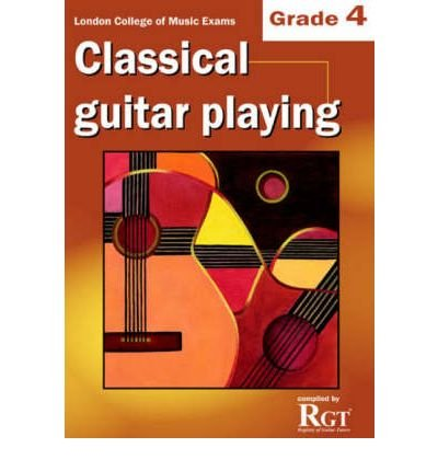 Guitar Playing Exam Book ([(Classical Guitar Playing: Grade 4 LCM Exams )] [Author: Tony Skinner] [Jun-2008])