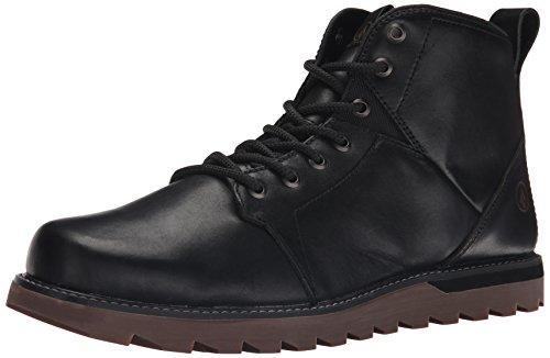 Volcom Mens Contra Combat Boot Vintage Black L5A4NH