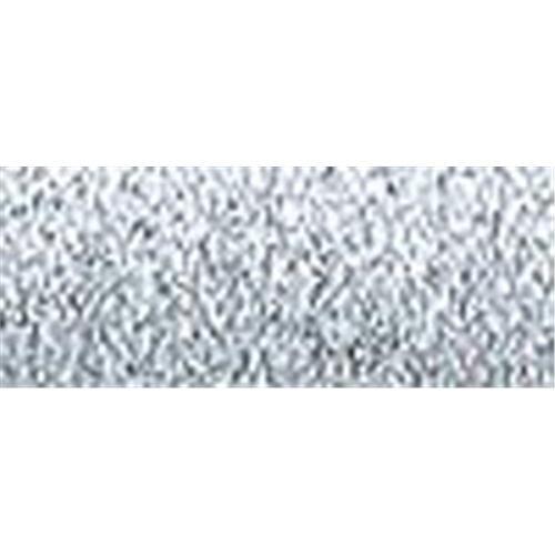 Kreinik NOM013536 Medium Metallic Braid #16, 10 Meters (11 Yards), Silver M-001