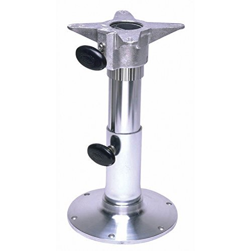 Garelick/Eez-In 75035:01 Adjustable Height Seat Base with Smooth Finish - Polished, 12