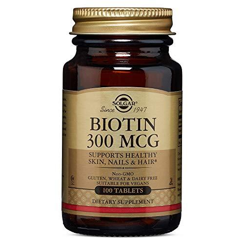 Biotin 300mcg 100 Tab 3-Pack
