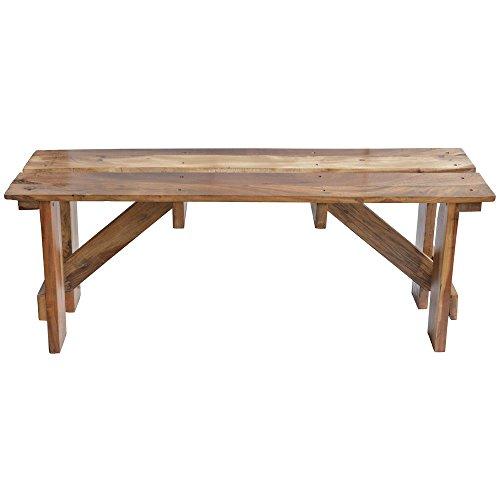 Expressly HUBERTÂ Wooden Pallet-Style Deli Shelf - 47''L x 13 4/5''D x 18''H by ExpresslyHubert