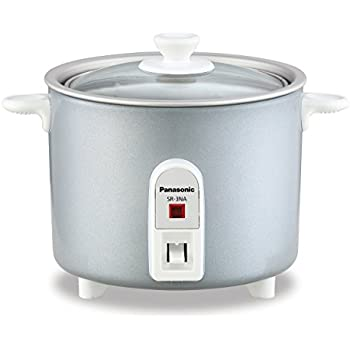 Panasonic SR-3NAL 1.5-Cup Automatic Rice Cooker, Silver