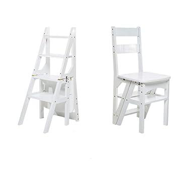 Sensational Amazon Com Step Ladder Lqqgxl Wooden Ladder Chair Beatyapartments Chair Design Images Beatyapartmentscom
