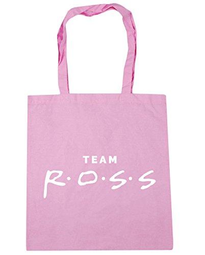 HippoWarehouse equipo Ross Tote Compras Bolsa de playa 42cm x38cm, 10litros Classic Pink