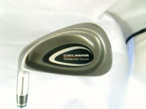 Dynamic Gold Lite Steel Iron (ORLIMAR Trimetal Plus Single Iron 8 Iron Dynamic Gold LITE Shaft Steel Regular Right Handed 36.25 in)