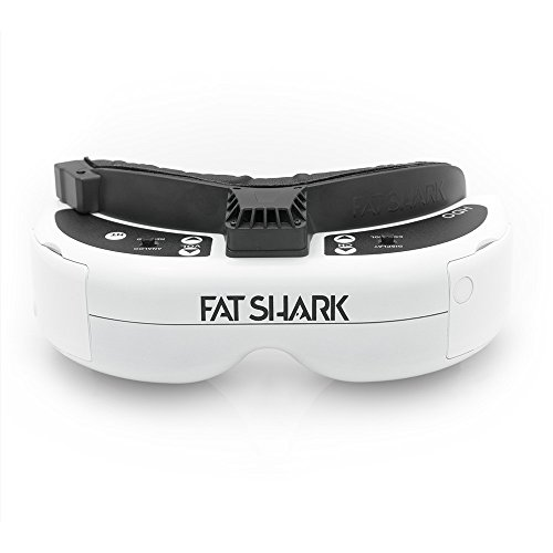Fat Shark Hdo Fpv Goggles, White