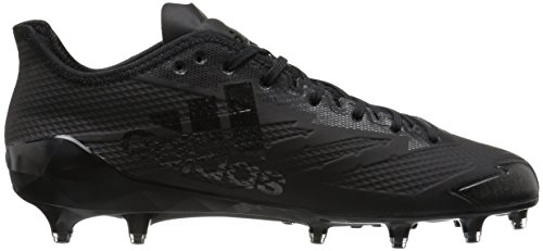 Adidas Man Adizero 5-stjärna 6,0 Fotboll Cleat Svart / Svart / Svart