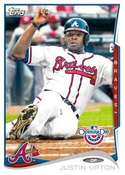 2014 Topps Opening Day #58 Justin Upton - Atlanta Braves (Baseball Cards)