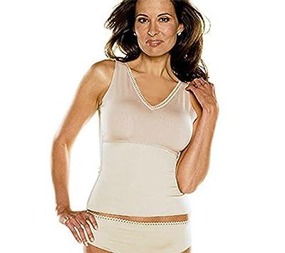 SPANX Hide & Sleek Smoothing Shapewear V-Neck Camisole & Panty Set QVC A80463