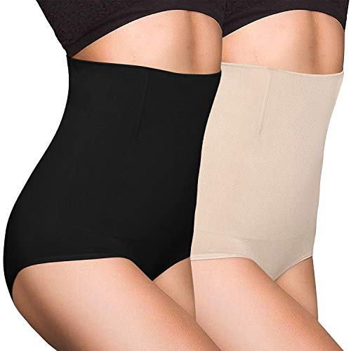 OLIKEME Women's Shaperwear, Tummy Control Firm Control Waist Shaper for Women Body Shapewear
