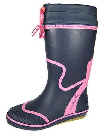 Azul pink Botas Agua Seafarer De Mujer Navy TIZ7xwq0