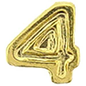 """Dispositivo Findingking para EE. UU. Medalla Chapado en oro numeral 43/16"""""""