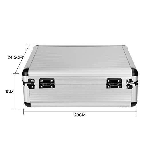 High-End Tattoo Set Toolbox Portable Large-Scale Aluminum Alloy Tattoo Box Tattoo Equipment from GUJIAO
