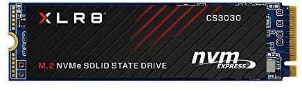 PNY XLR8 CS3030 1TB M.2 PCIe NVMe Gen3 x4 Internal Solid State Drive (SSD), Read Up to a few,500 - M280CS3030-1TB-RB