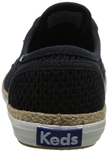 Champion Keds Women's Fashion Crochet Sneaker Black B5Fq5WrA