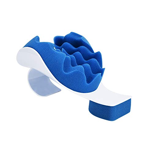 Neck and Shoulder Relaxer Neck Pain Relief and Support Shoulder Relaxer Massage Traction Pillow Chiropractic Pillow for Pain Relief Management and Cervical Spine Alignment 【Ship from USA 】 -