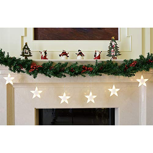 Abba Patio Star String Lights, 59 inch x...