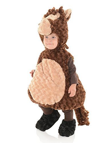 [Horse Plush Belly Babies Toddler Costume] (Kids Horse Costumes)
