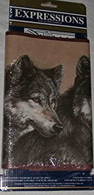 Expressions Wall Paper Border WOLF Prepasted Washable 5 Yd.