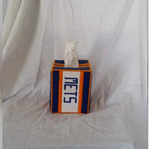 New York Mets Tissue Box Cover