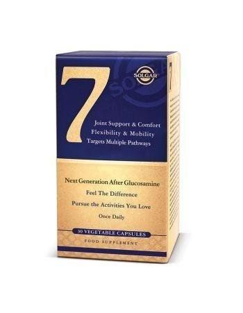 SOLGAR 7 - 30 cápsulas vegetales - Complejo especial para articulaciones con 5 suplementos