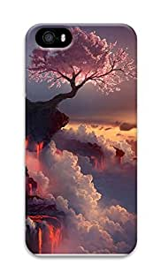 iPhone 5 5S Case Nature Flowering Fire 3D Custom iPhone 5 5S Case Cover