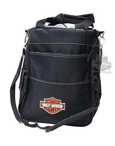 Harley-Davidson Activo B&S Logo Insulated Black Cooler Tote