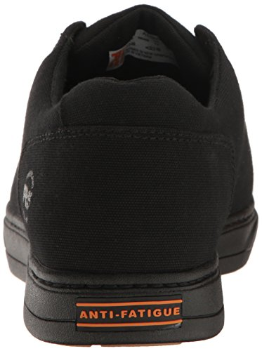 Timberland Pro Mens Disruptor Chukka Alloy Safety Toe Eh Industrial and Construction Shoe Black/Black Canvas