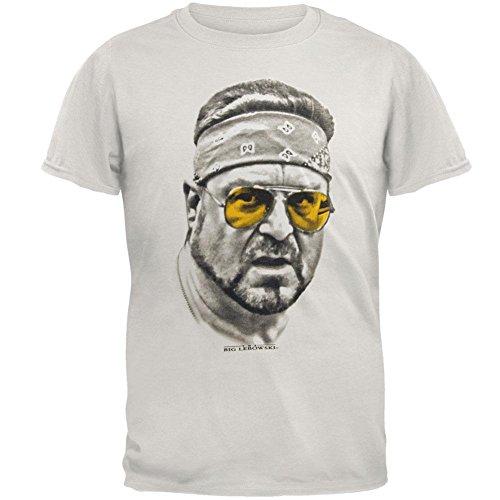 The Big Lebowski Walter Orange Glasses Unisex T-Shirt White - Lebowski Glasses Big