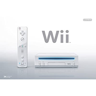 Nintendo Wii Console, White (NEWEST MODEL)