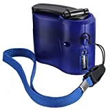 H&Living EDC USB Phone Emergency Charger for Camping Hiking Outdoor Sports Hand Crank Travel Charger Camping Equipment Survival Tools (l)