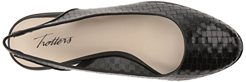 Trotters Women's Lucy Ballet Flat Black low shipping online 5v7gP