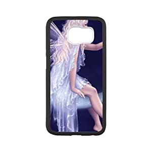 Samsung Galaxy S6 Cell Phone Case Black_Birth of a Star Eyjog
