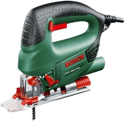 Bosch Home and Garden 0.603.3A0.100 Sierra de calar, 240 V, 530 W, 80 mm profundidad de corte